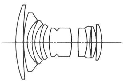 Konica Hexanon AR 21mm f/2.8 AE