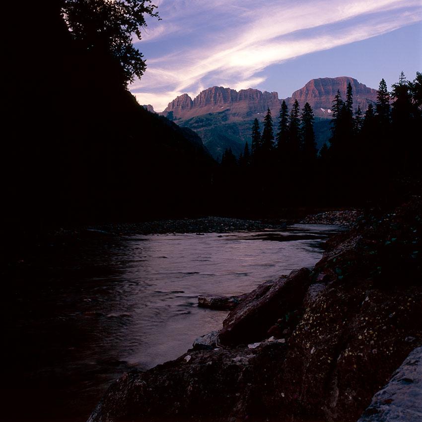 Photo 13 – Garden Wall and McDonald Creek