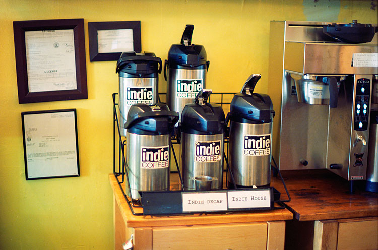 Indie Coffee, 2012