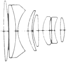 Konica Hexanon AR 35-70mm f/4 Diagram