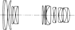 Konica Hexanon AR 80-200mm f/3.5 Diagram