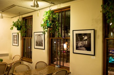 Exhibition at Sunroom Cafe and Gallery