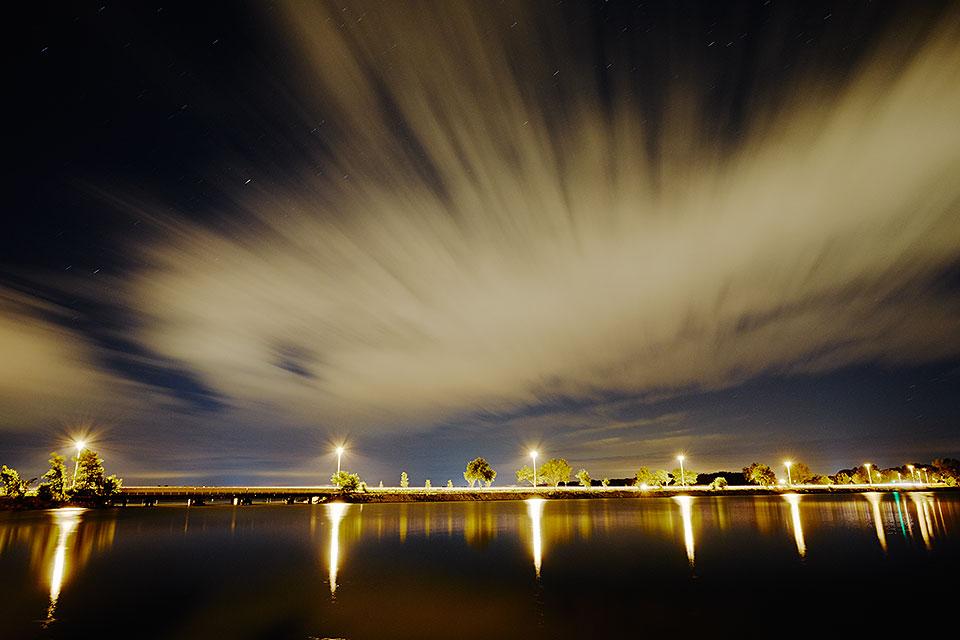 John Nolen Drive at Night