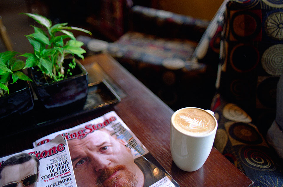 Rolling Stone at True Coffee, 2013