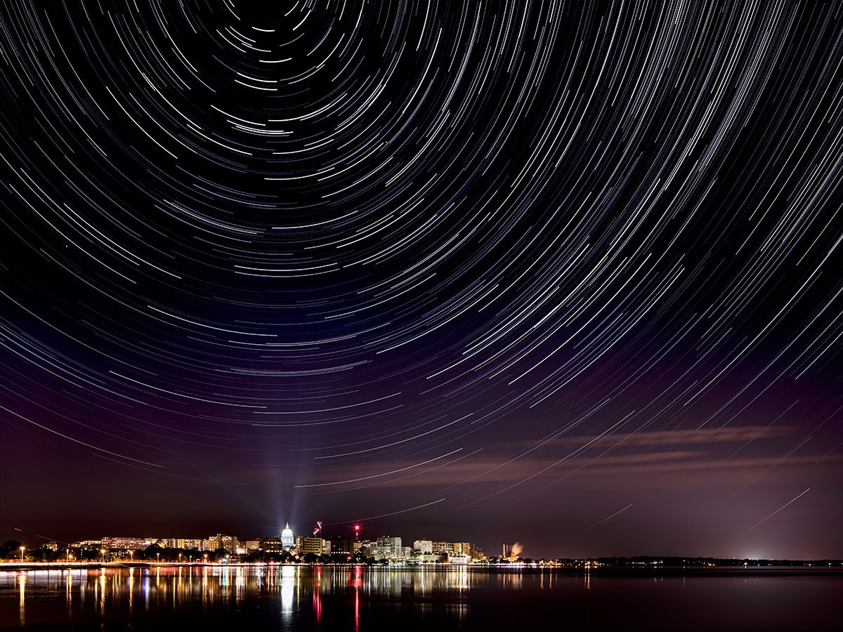 Madison Star Trails