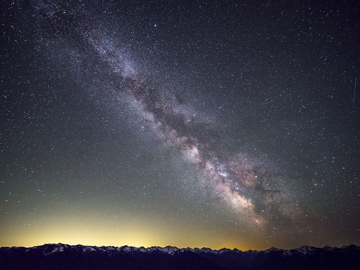 Milky Way over Hurricane Ridge