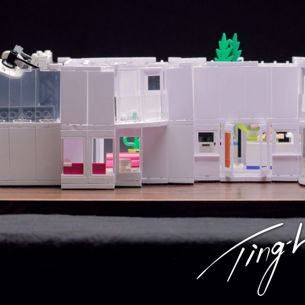Model architecture with Arckit and Lego by Ting-Li Lin