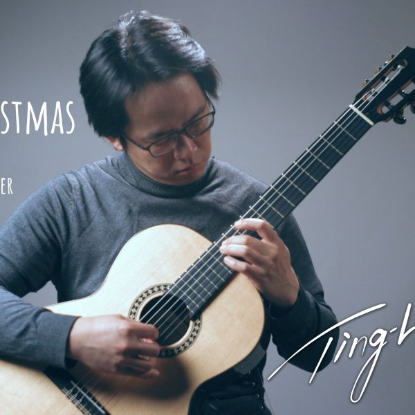 White Christmas guitar cover